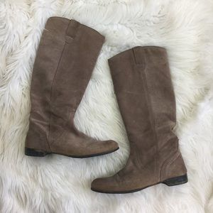 Urban Outfitters BDG Tall Suede Riding Boot